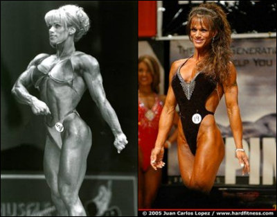 The bodybuilder or the Figure competitor?