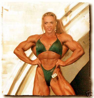 Andrulla Blanchette Ms.Olympia 2000 Competition Bikini
