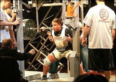 Laura Phelps 725 lbs squat at the APF Ohio State Championships.