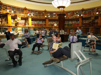 Liverpool installs gym equipment in library