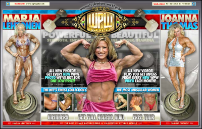 Women's Physique World releases a new web site: WPWGold.com