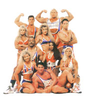 Gladiators Zone has all the info about American Gladiators and the local series