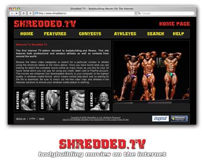 SHREDDED.TV – Bodybuilding movies ondemand