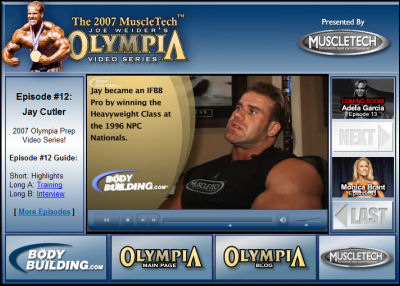 Bodybuilding.com presents Jay Cutler in Olympia: The Video Series #12