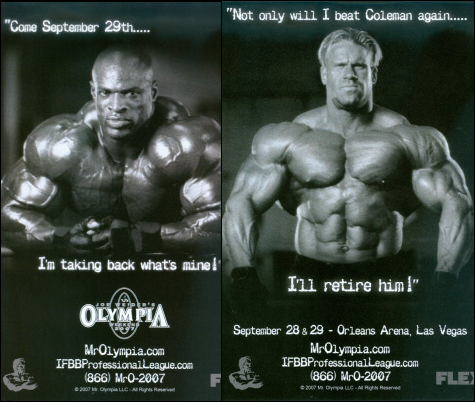Which Mr. Olympia do you think will win in 2007?